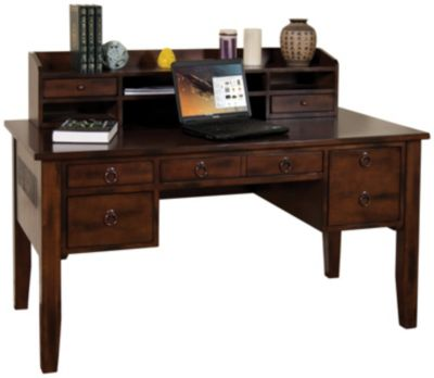 Santa Fe Writing Desk  Hutch  Art Van Furniture