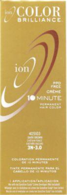 Ion Color Brilliance Permanent Creme 10 Minute Hair Color