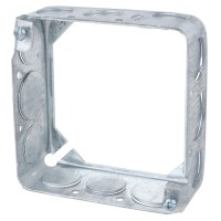 Steel City 53151-1/2 Steel 4 In Square Box Extension Ring ...
