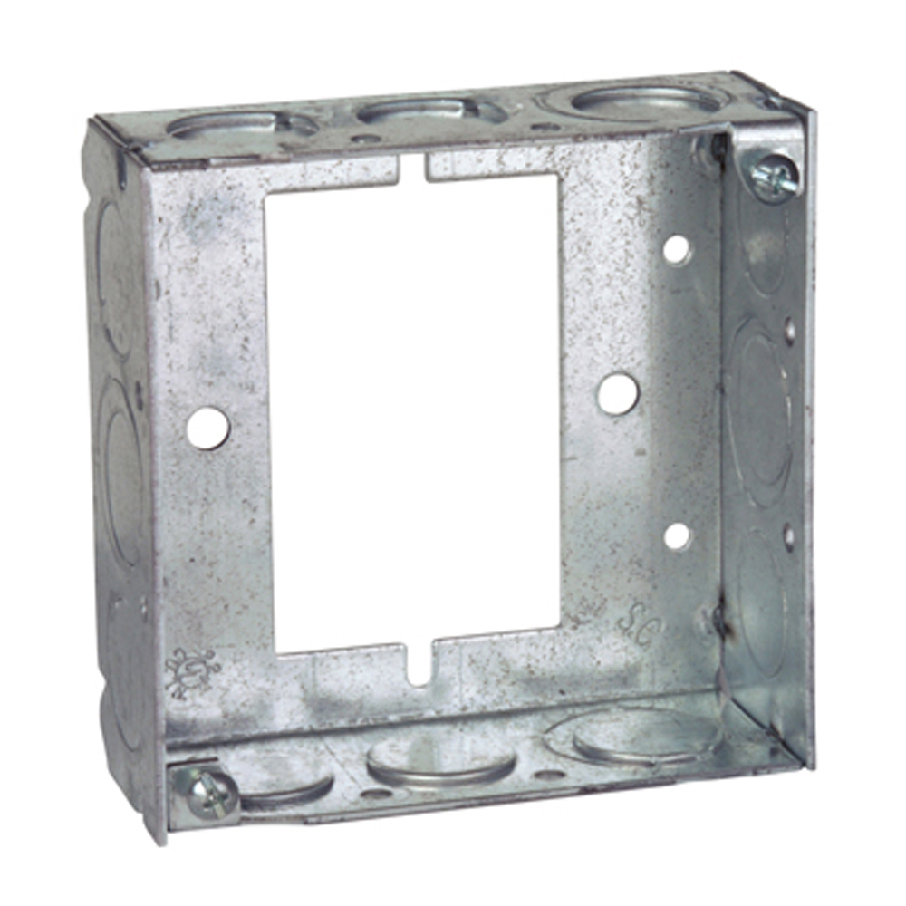 Steel City 531511234UB 4 in. Steel Square Box, Extension