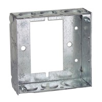 Steel City 531511234UB 4 in. Steel Square Box, Extension ...