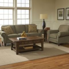 Chair And Ottoman Sets Under 200 Tell City Chairs Mahogany 27 Broyhill Larissa 3 Piece Sofa With Set In Green