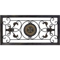 Metal Scroll Frame Wall Art