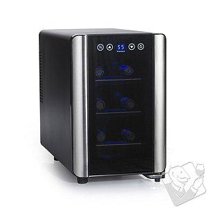 Wine Enthusiast Silent 6 Bottle Touchscreen Wine Refrigerator