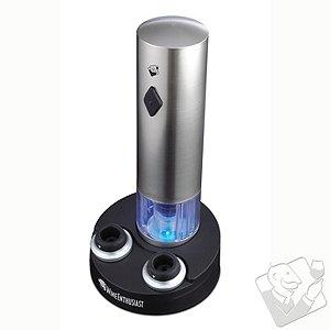 Electric Blue Vacuum Wine Preserver