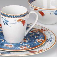Kathy Ireland Home Spanish Botanica 4-piece Dinnerware ...
