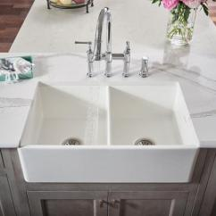 Farmhouse Undermount Kitchen Sink Office Table And Chairs Elkay Fine Fireclay Sinks In White Apron Farm
