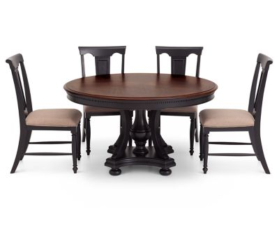Bridgeport 5 Pc Round Dining Room Set Furniture Row