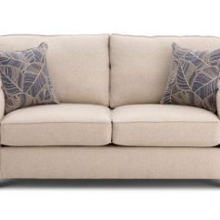Furniture Row Sofa Sleepers 2 Seater Brown Chesterfield Image  Thesofa