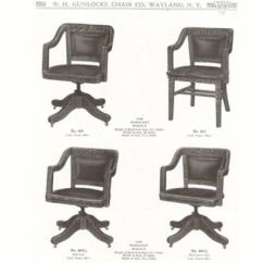 Wh Gunlocke Chair Ave Six History Office Furniture Wood Casegoods Desking Seating First National Contract