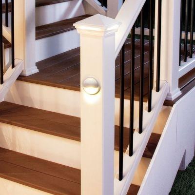 Trex Deck Lighting Luxury Illuminate Lighting For Decks Trex   Trex Enhance Stair Railing   Trex Deck Railing Installation   Clam Shell   Lighting   Installation Instructions   Composite Decking
