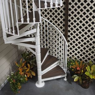 Trex® Spiral Stairs™ Named Best New Product For 2014   Trex Spiral Stairs Cost   Stair Treads   Composite   Stair Case   Steel   Handrail