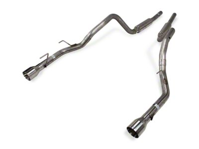 Pypes MID-MUFFLER Mustang Cat-Back with Polished Tips