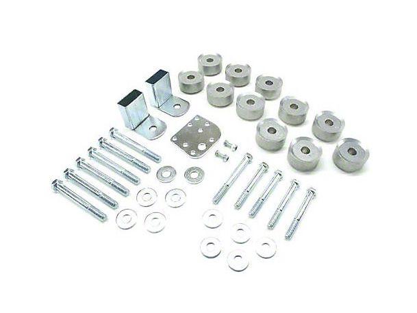 Teraflex 1 in. Wrangler Body Lift Kit, Aluminum Spacers