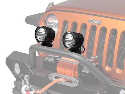 Vision X Wrangler 120mm Cannon LED Driving Lights, Pair