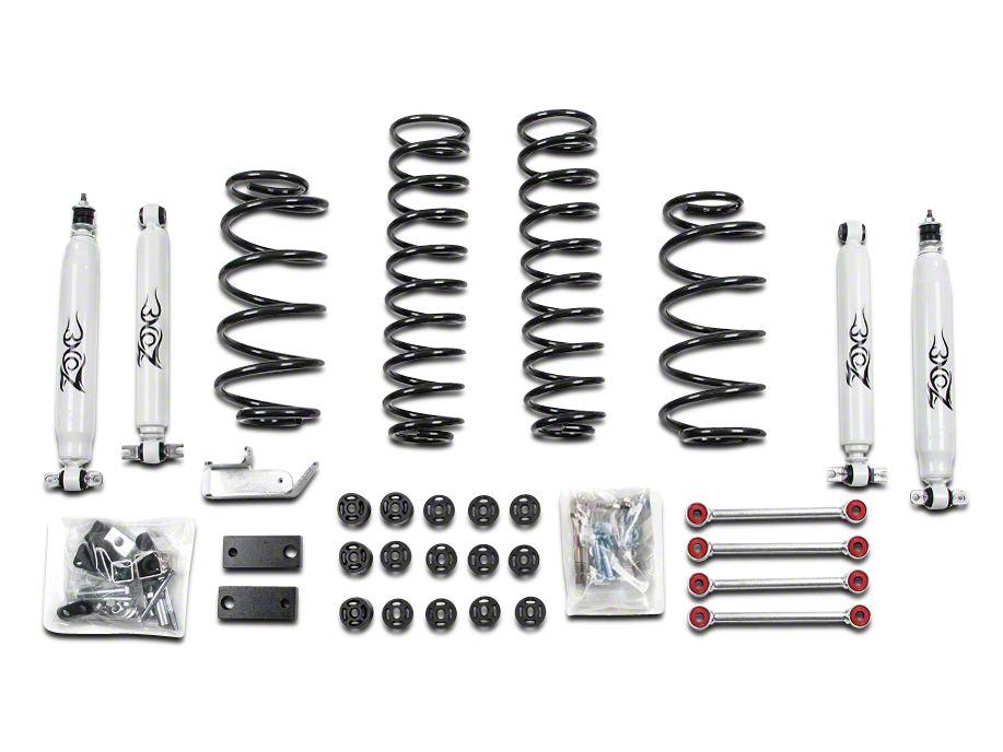 Zone Offroad Wrangler Combination Body Suspension Lift Kit