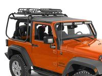 Rugged Ridge Wrangler Spartacus Roof Rack Basket - Black ...