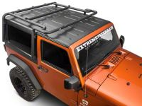 Off Camber Fabrications by MBRP Wrangler Roof Rack System ...