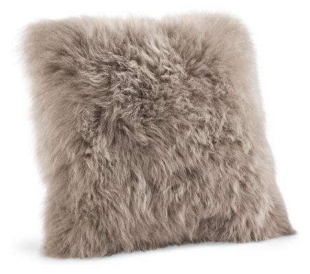 Sheepskin Modern Throw Pillows