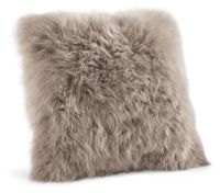 Sheepskin Modern Throw Pillows - Modern Throw Pillows ...