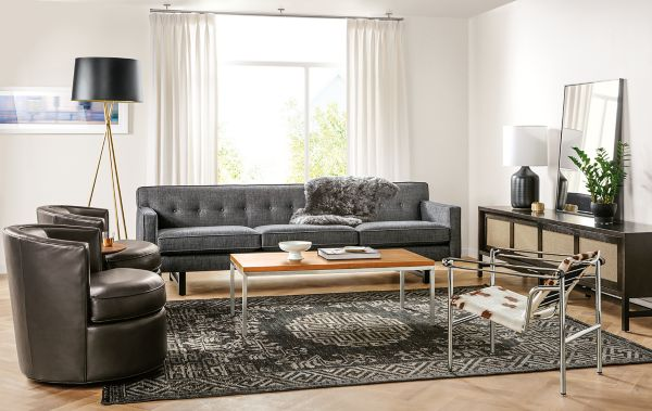 swivel chairs living room simple false ceiling design photos for andre sofa and otis board detail of in modern