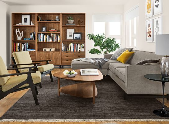 andre sofa black corner bed olivia with reversible chaise in harrow cement room board