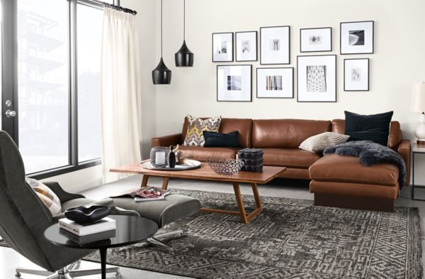 room and board hess sofa review wicker rattan sleeper leather sectional - modern sectionals living ...