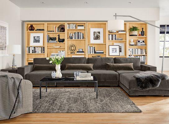 modern living room furniture Modern Living Room Furniture - Living - Room & Board