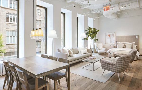 sectional sofas nyc showroom stanley sofa delhi modern furniture store in chelsea new york city room board