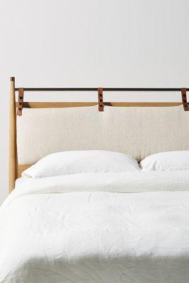 hemming linen headboard cushion