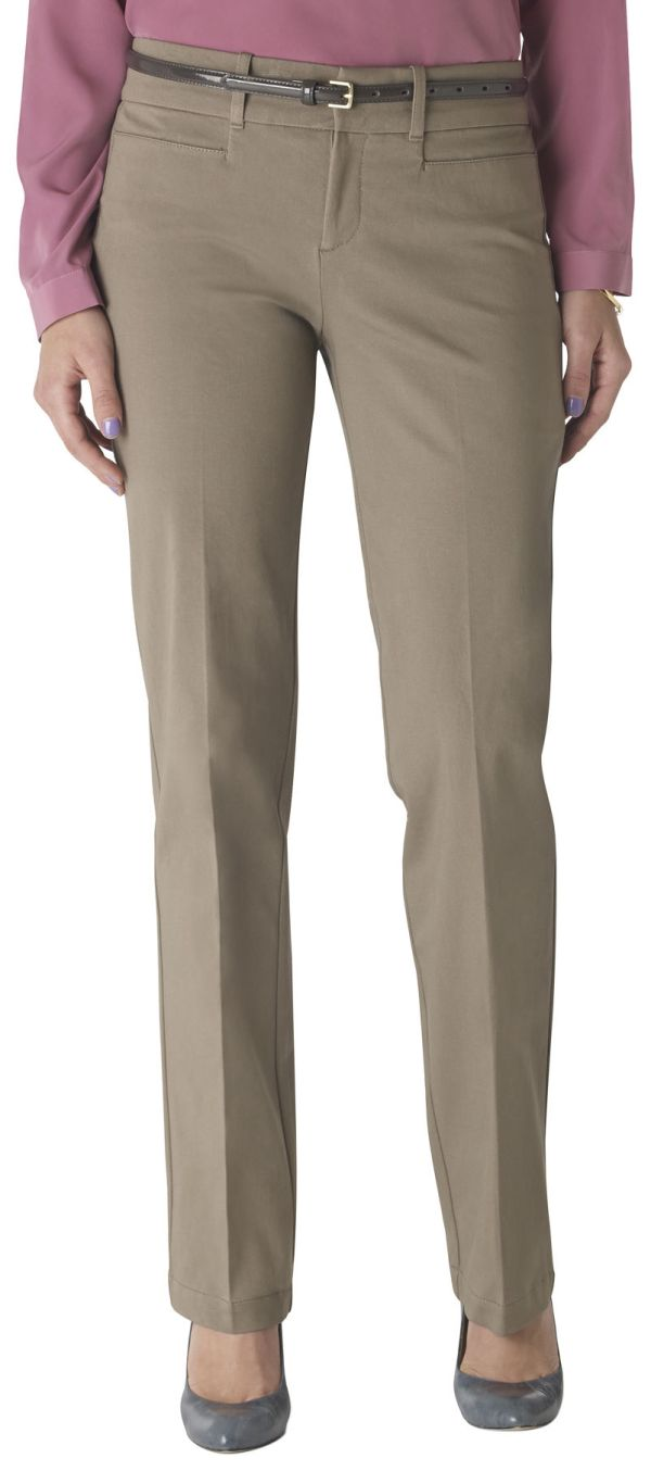 Dockers Womens Straight Leg Ideal Pants