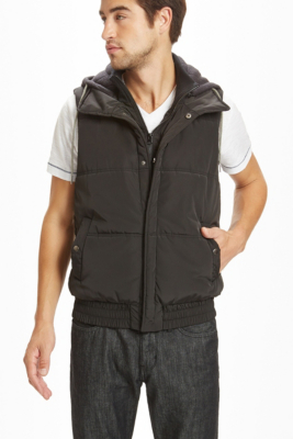 Guess Camby Hooded Puffer Vest