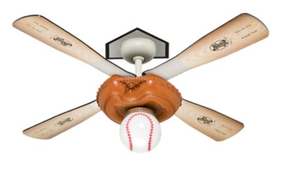 44 BronzeBrown Ceiling Fan  Baseball Fan 23252  Hunter Fan