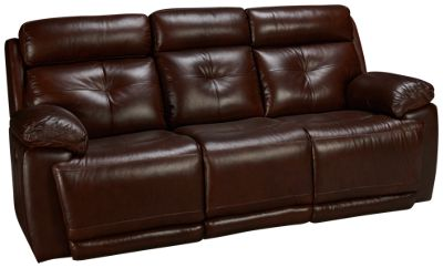 futura leather and vinyl power reclining sofa with headrest in stone jean michel frank style sofas for sale at jordan s furniture stores ma nh ri ct archer recliner tilt