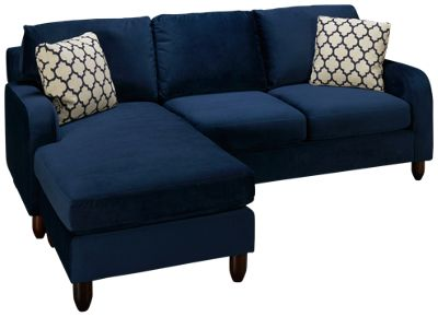 buchanan sofa with chaise mid century modern leather sleeper chase champion haynes furniture