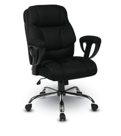 big mans chair tub grey office star products worksmart executive with mesh seat and back
