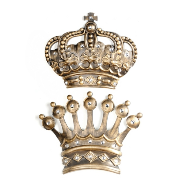 King Queen Crown Decor Home Decorating Ideas