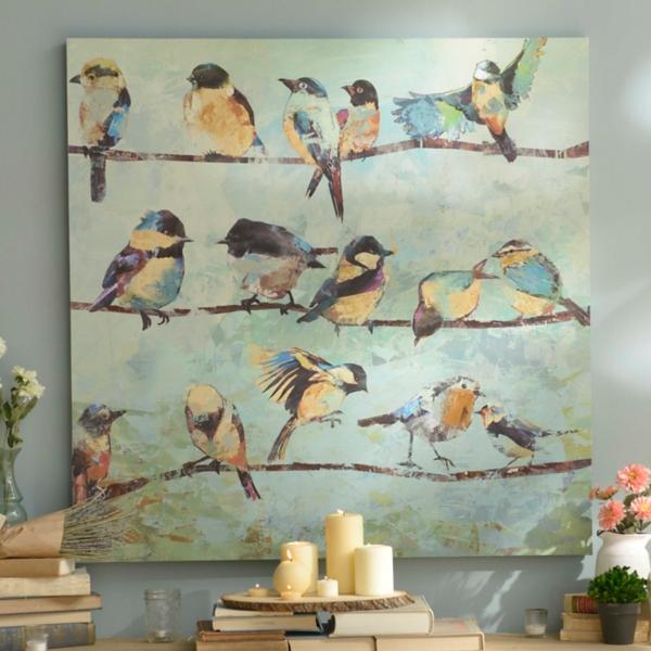 The Hangout Canvas Art Print