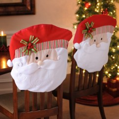 Kirklands Christmas Chair Covers Patio Fire Pit Chairs Santa Covers, Set Of 2