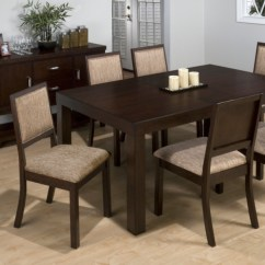 Kirklands Dining Chairs Bedroom Long Chair Cappuccino Table With Leaf