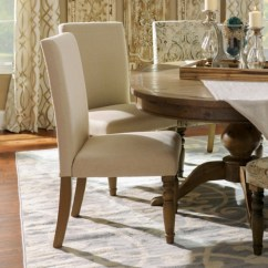 Kirklands Dining Chairs Fabric Desk Without Wheels Oatmeal Burlap Parsons Chair