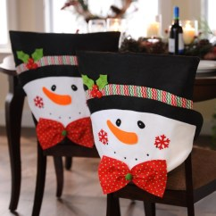 Kirklands Christmas Chair Covers White Upholstered Chairs Mr Snowman Set Of 2
