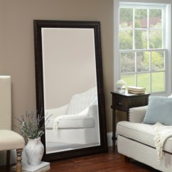 Large Decorative Mirrors For Living Room Big Lots Tables Mirror Framed Kirklands Beaded Bronze 38x68 In