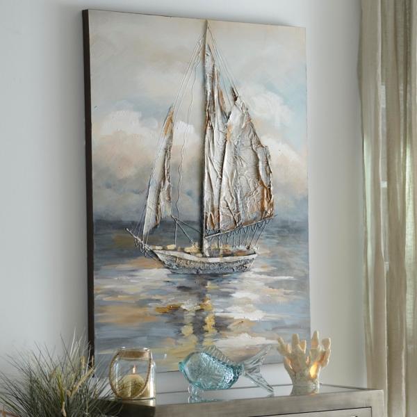 Moonlight Voyage Canvas Art