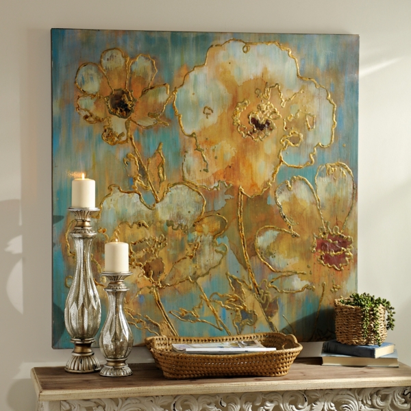 Enchanting Blooms Canvas Art Print