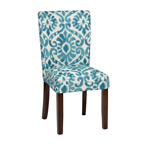 Blue Parsons Chair Blue Lamont Ikat Parsons Chair Kirklands