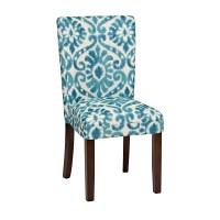 Blue Lamont Ikat Parsons Chair | Kirklands