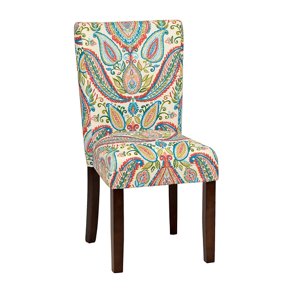 kirklands dining chairs office chair piston watercolor paisley parsons