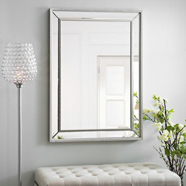 Medium Silver Luxe Mirror  Kirklands