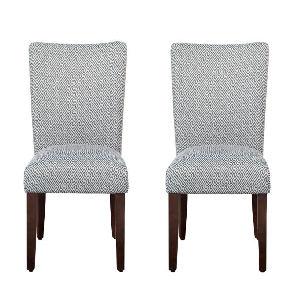 black parsons chair john vogel west elm dining room chairs kirklands blue shades set of 2